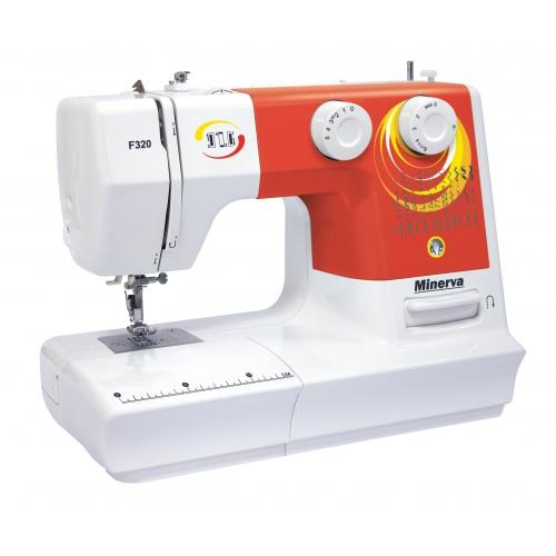 Minerva F320 - фото в интернет–магазине швейных машинок и аксессуаров в Украине - Sewgroup