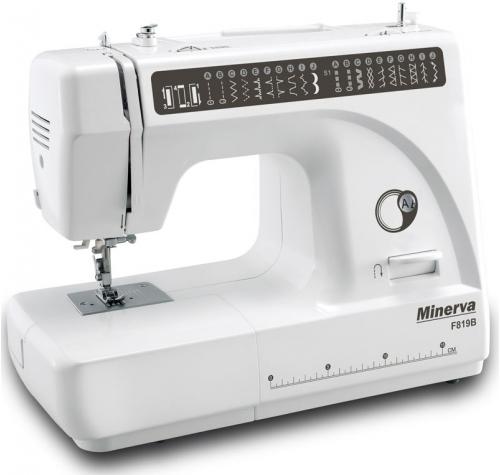Електромеханічна швейна машина Minerva F819B - фото в інтернет-магазині швейних машинок і аксесуарів в Україні - Sewgroup