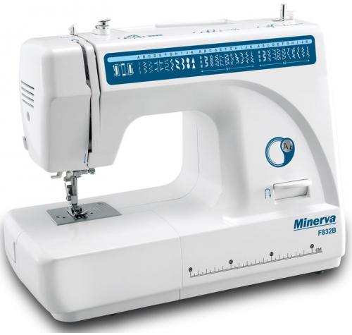Minerva F832B - фото в интернет–магазине швейных машинок и аксессуаров в Украине - Sewgroup