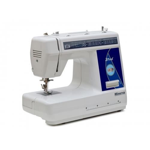 Електромеханічна швейна машина Minerva JProf - фото в інтернет-магазині швейних машинок і аксесуарів в Україні - Sewgroup