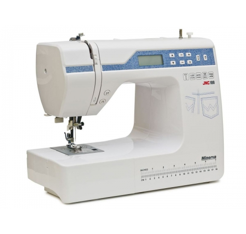 Комп'ютеризована швейна машина Minerva JNC100 - фото в інтернет-магазині швейних машинок і аксесуарів в Україні - Sewgroup
