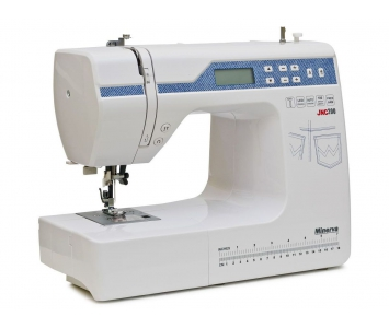 Комп'ютеризована швейна машина Minerva JNC200