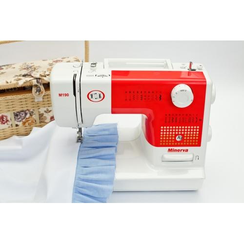 Електромеханічна швейна машина Minerva M190