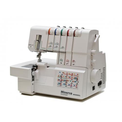Коверлок Minerva M5000CL - фото в інтернет-магазині швейних машинок і аксесуарів в Україні - Sewgroup