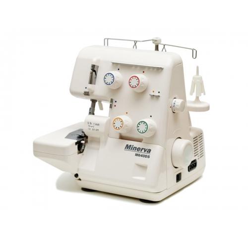 Minerva M640DS - фото в інтернет-магазині швейних машинок і аксесуарів в Україні - Sewgroup