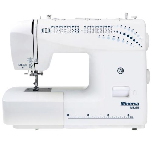 Minerva M823B - фото в интернет–магазине швейных машинок и аксессуаров в Украине - Sewgroup