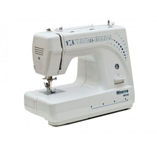 Електромеханічна швейна машина Minerva M823B - фото в інтернет-магазині швейних машинок і аксесуарів в Україні - Sewgroup