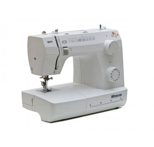 Електромеханічна швейна машина Minerva M85V - фото в інтернет-магазині швейних машинок і аксесуарів в Україні - Sewgroup
