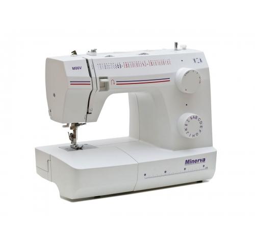 Електромеханічна швейна машина Minerva M86V - фото в інтернет-магазині швейних машинок і аксесуарів в Україні - Sewgroup