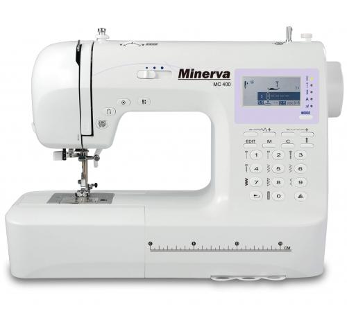 Minerva MC 400 - фото в інтернет-магазині швейних машинок і аксесуарів в Україні - Sewgroup