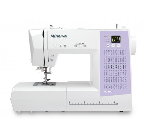Minerva MC 60C - фото в интернет–магазине швейных машинок и аксессуаров в Украине - Sewgroup