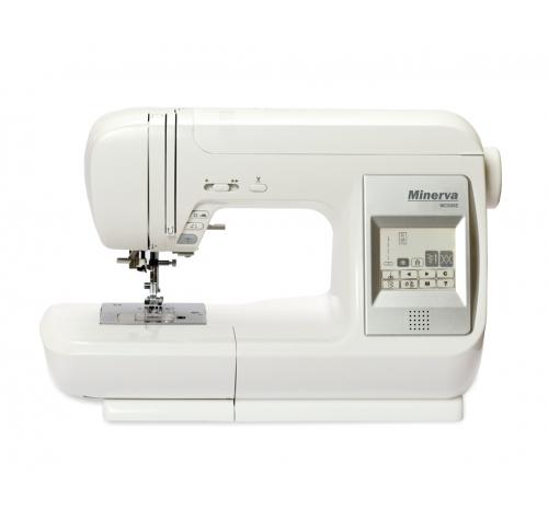 Minerva MC 600E - фото в інтернет-магазині швейних машинок і аксесуарів в Україні - Sewgroup
