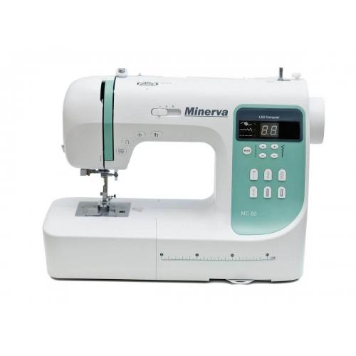 Комп'ютеризована швейна машина Minerva MC 80 - фото в інтернет-магазині швейних машинок і аксесуарів в Україні - Sewgroup