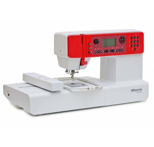 Minerva MC 450 ER - фото в интернет–магазине швейных машинок и аксессуаров в Украине - Sewgroup