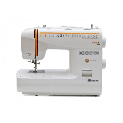 Електромеханічна швейна машина Minerva NEXT 363D - фото в інтернет-магазині швейних машинок і аксесуарів в Україні - Sewgroup