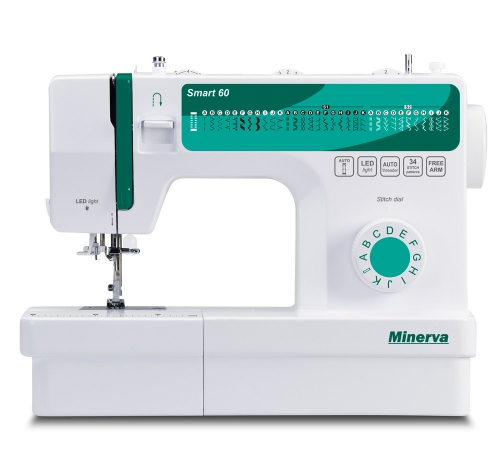 Minerva Smart 60 - фото в интернет–магазине швейных машинок и аксессуаров в Украине - Sewgroup