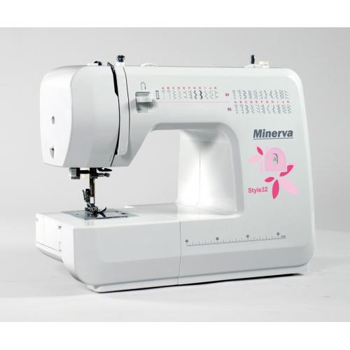 Minerva Style32 - фото в интернет–магазине швейных машинок и аксессуаров в Украине - Sewgroup