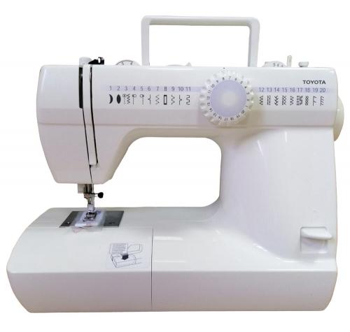 Електромеханічна швейна машина Toyota CU37 EU - фото в інтернет-магазині швейних машинок і аксесуарів в Україні - Sewgroup