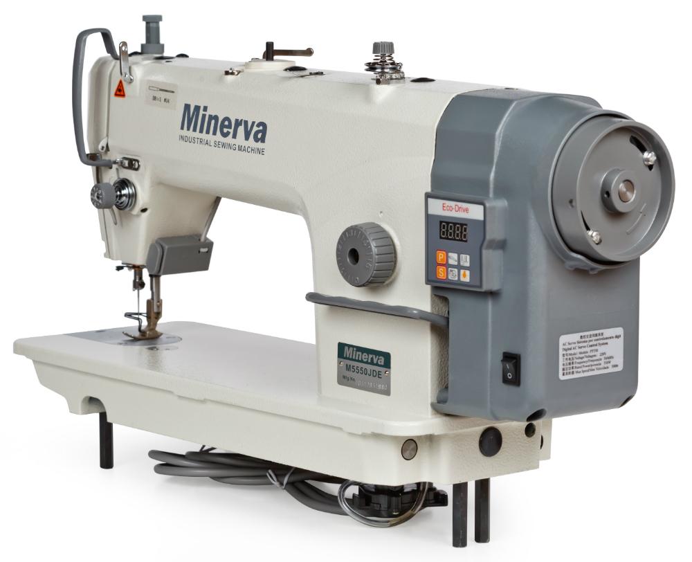 Одноігольна прямострочна машина Minerva M5550 JDE. Одноігольна прямострочна  машина Minerva M5550 JDE - фото в інтернет-магазині швейних машинок і  аксесуарів b1df7519da33d