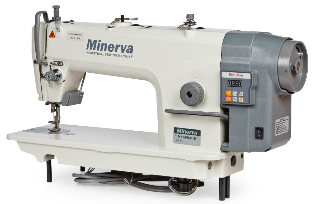 Одноігольна прямострочна машина Minerva M5550 JDE - фото в інтернет-магазині  швейних машинок і аксесуарів f633c7424bd51