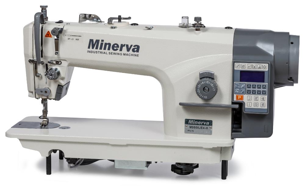 Комп ютеризована прямострочна машина Minerva M9800JE4-H - фото в інтернет-магазині  швейних dba5efdff2562