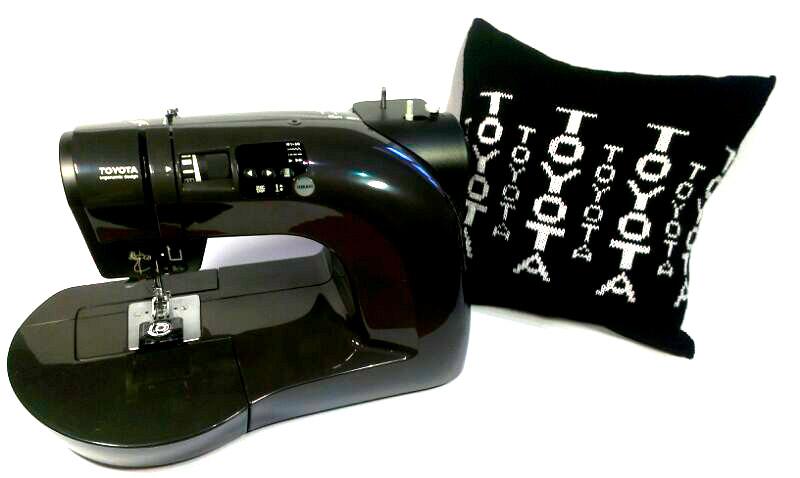Даруємо подушку з логотипом бренда виробника TOYOTA! - фото 2 - новина в інтернет-магазині Sewgroup