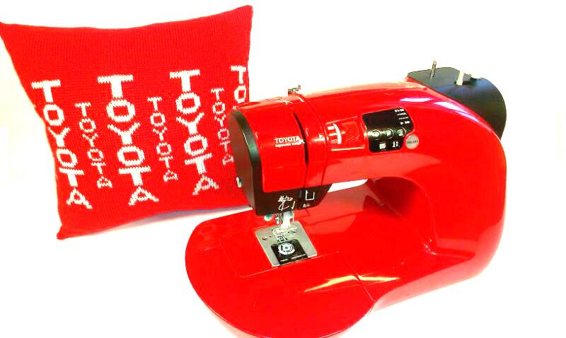 Даруємо подушку з логотипом бренда виробника TOYOTA! - фото - новина в інтернет-магазині Sewgroup