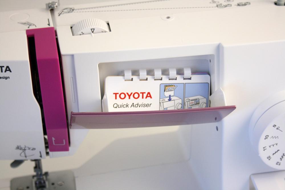 Новые модели швейных машин Toyota - фото 3 - новость в интернет-магазине Sewgroup
