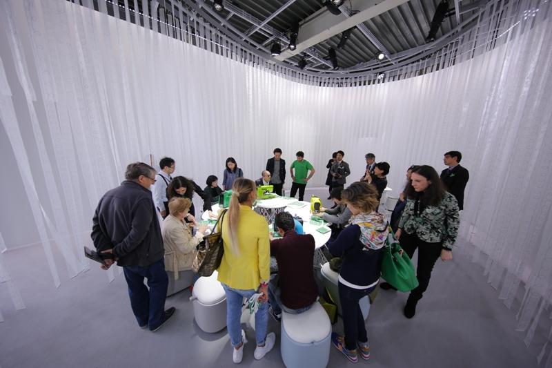 Виставка Milano Salone 2016 - фото - новина в інтернет-магазині Sewgroup
