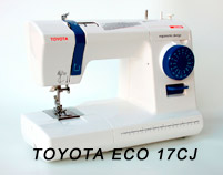 Моделі швейних машин TOYOTA - фото - новина в інтернет-магазині Sewgroup