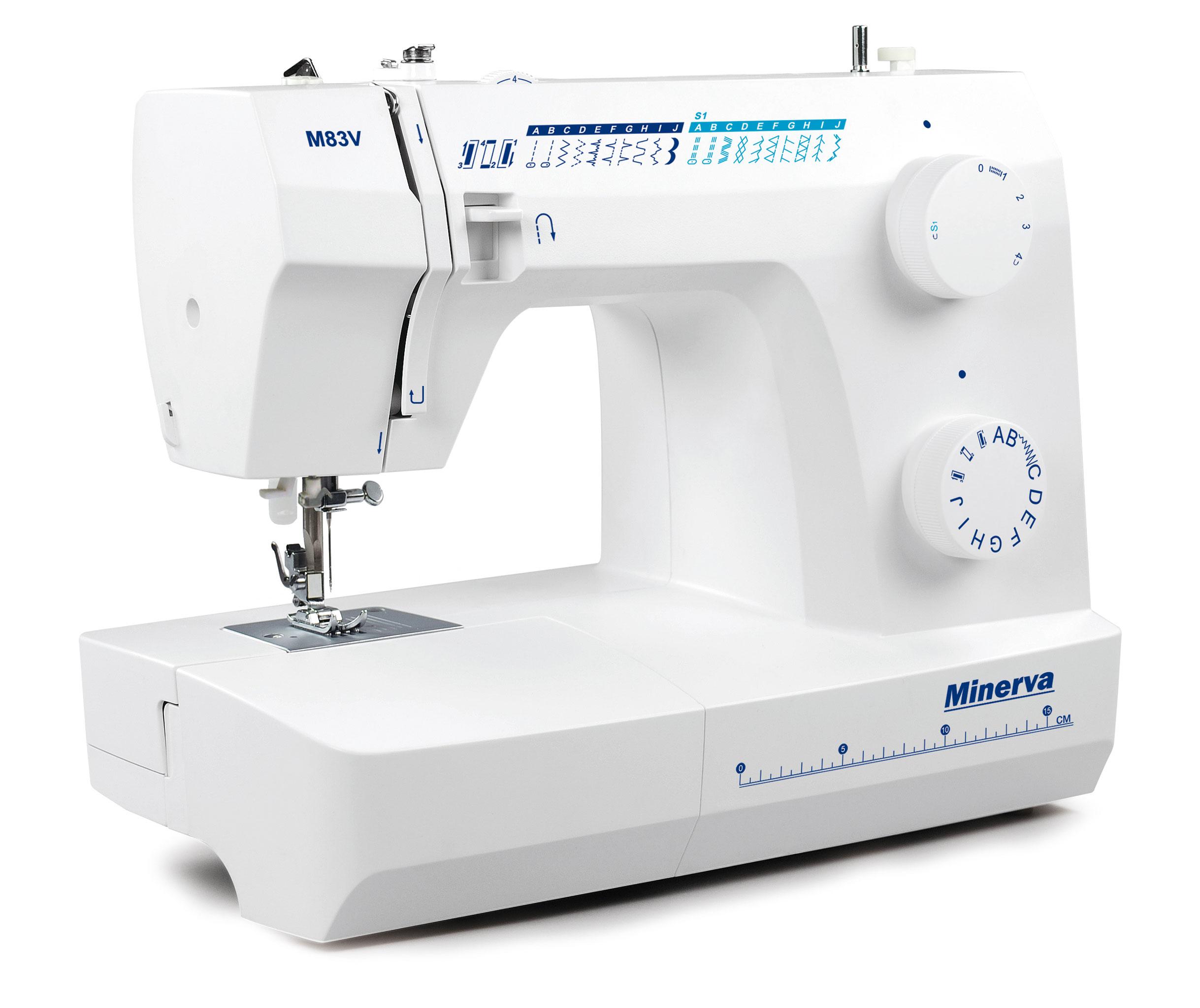 Нові моделі швейних машин Minerva - фото 2 - новина в інтернет-магазині Sewgroup
