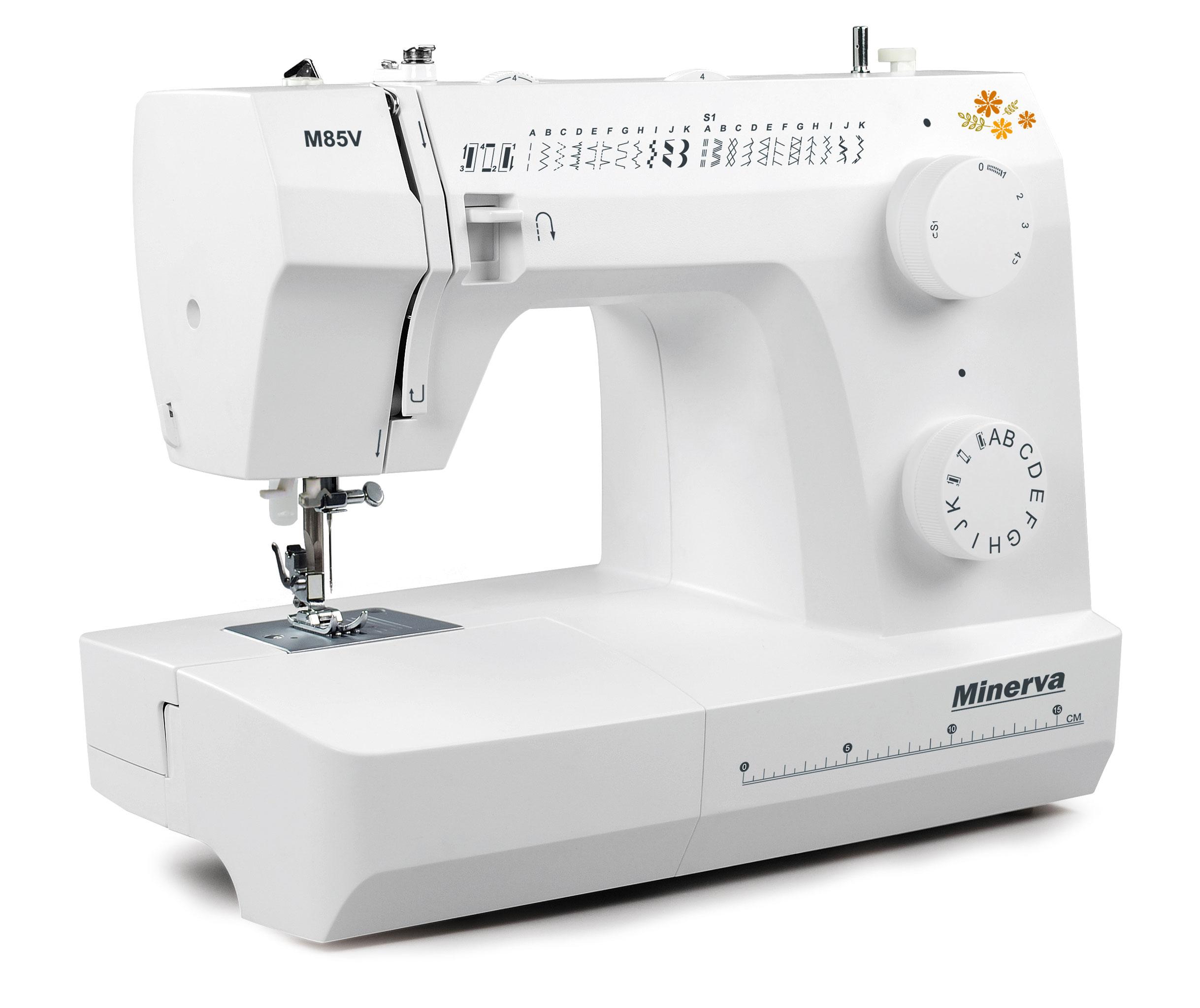 Нові моделі швейних машин Minerva - фото 3 - новина в інтернет-магазині Sewgroup