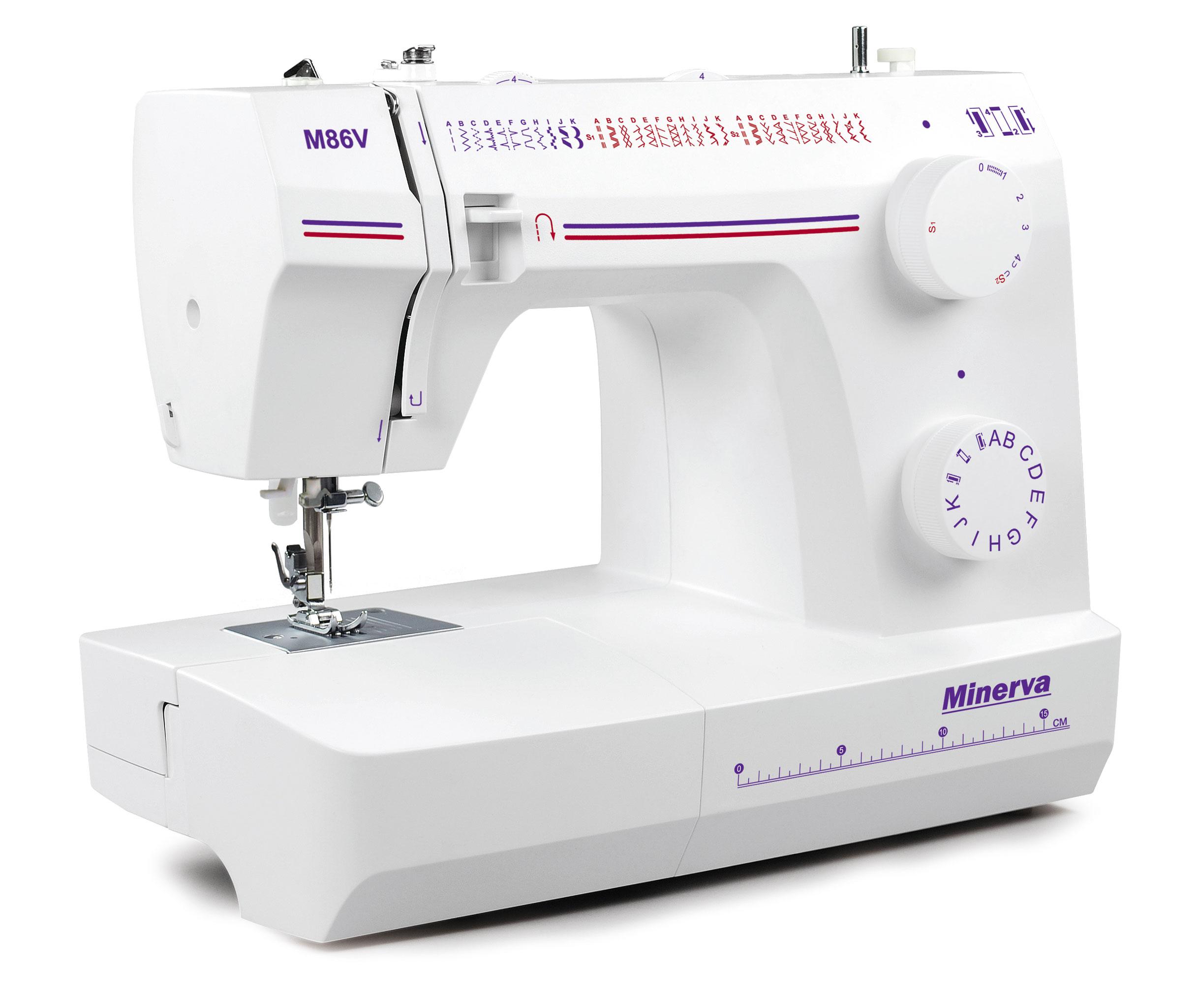 Нові моделі швейних машин Minerva - фото 4 - новина в інтернет-магазині Sewgroup