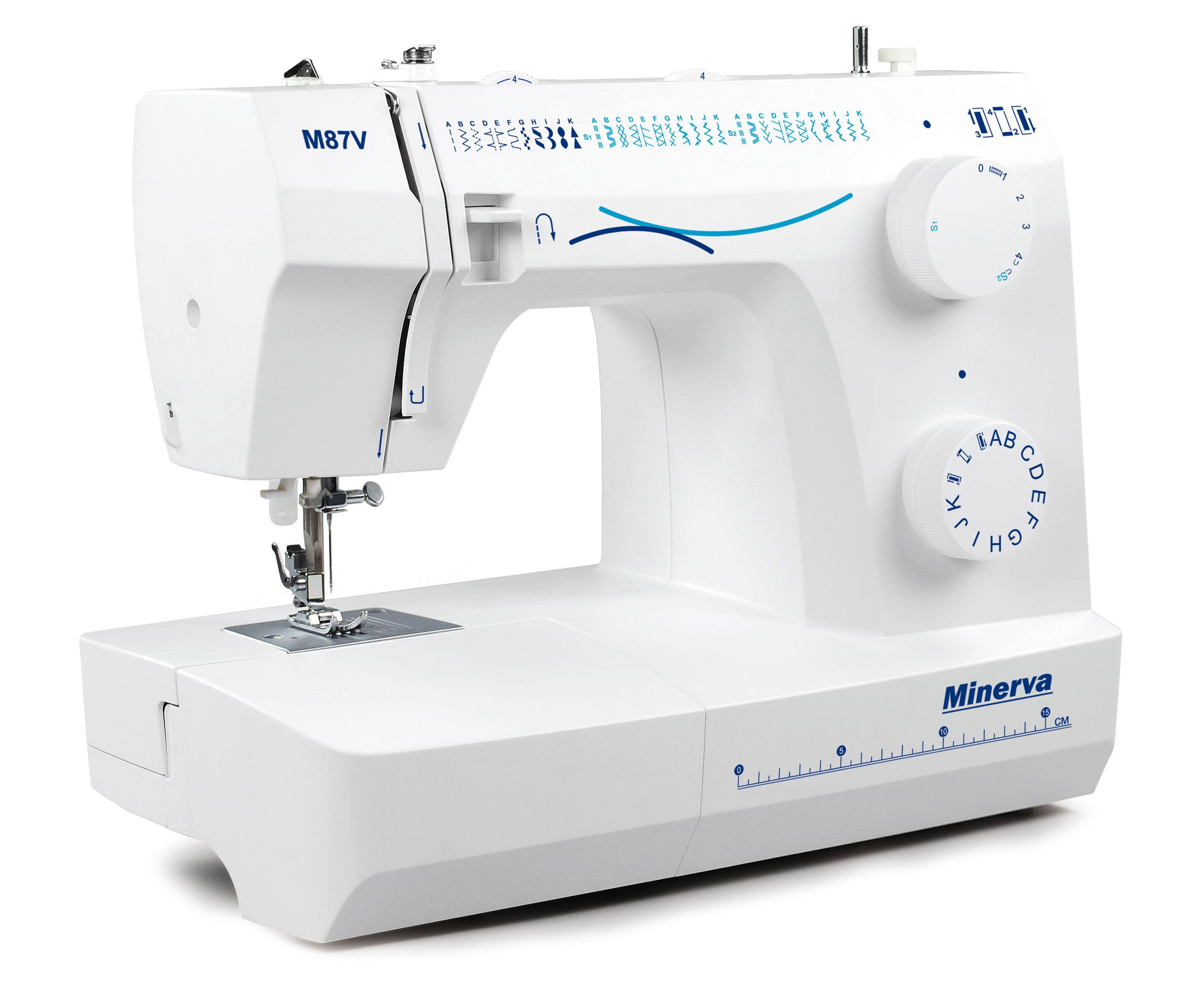 Нові моделі швейних машин Minerva - фото 5 - новина в інтернет-магазині Sewgroup