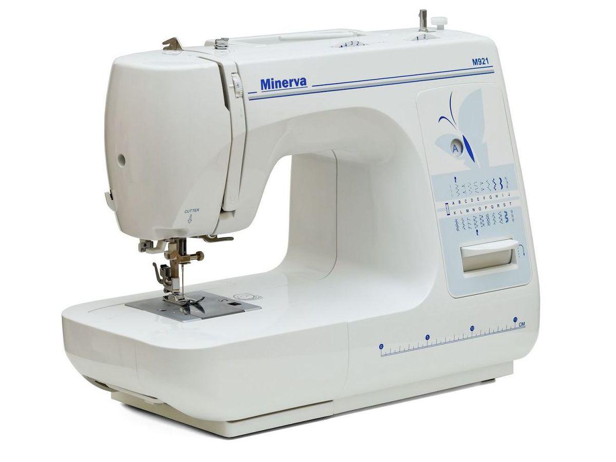 Електромеханічна швейна машина Minerva M921 - фото в інтернет-магазині  швейних машинок і аксесуарів в ad8db890f20cb
