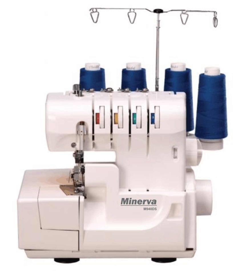 НОВИНКА - оверлок Minerva M940DS - фото - новина в інтернет-магазині Sewgroup
