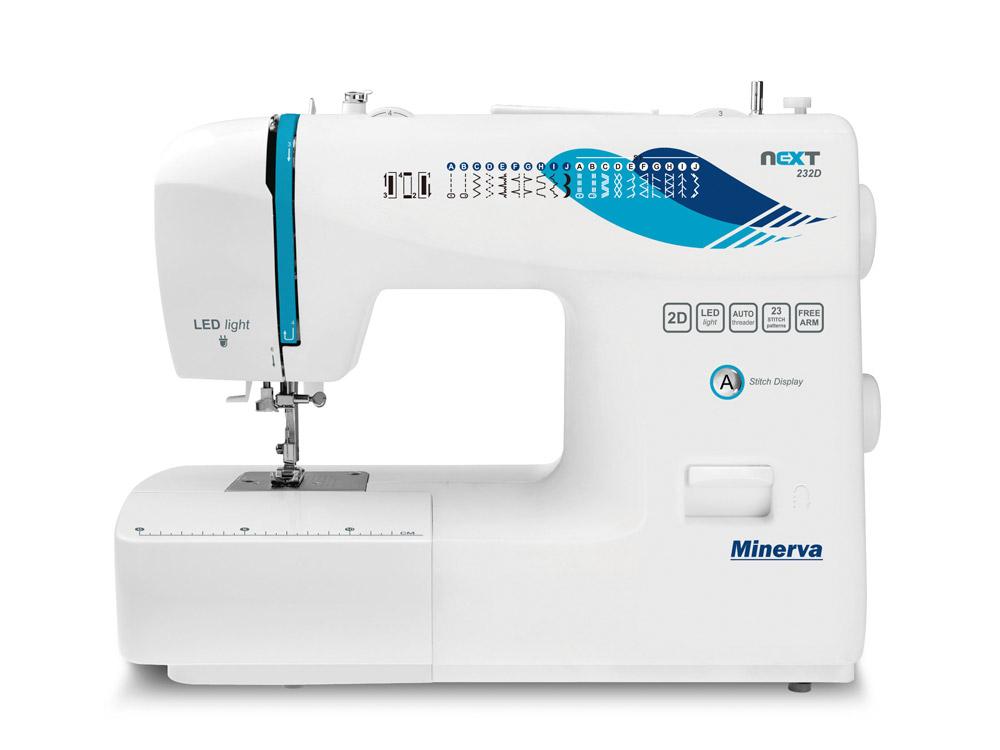 Нова серія швейних машин Minerva Next 2017 - фото 2 - новина в інтернет-магазині Sewgroup